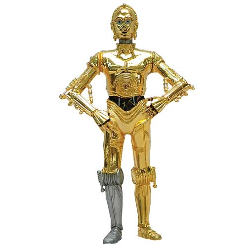 Star Wars C-3PO Metal Statue