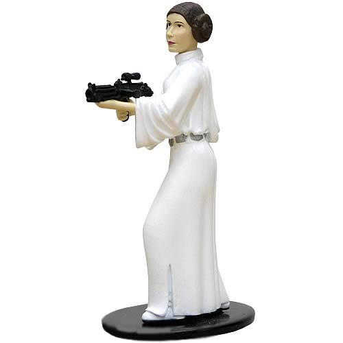 Star Wars Princess Leia Metal Statue