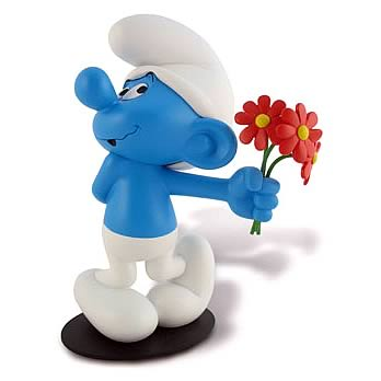 Smurfs Smurf in Love Statue