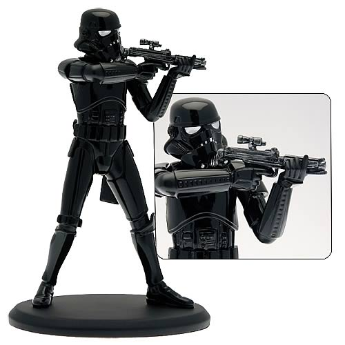 Star Wars Elite Collection Shadow Trooper Statue, Not Mint