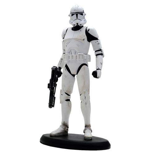 Star Wars Revenge of the Sith Classic Clone Trooper Statue