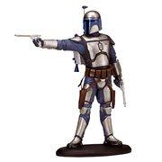 Star Wars Episode II Jango Fett 7 12 Inch Resin Statue