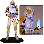 Star Wars Commander Cody Order 66 Cold Cast Statue