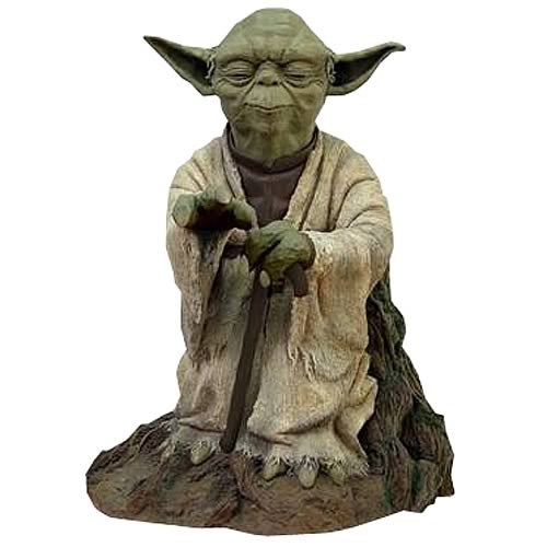 Star Wars ESB Yoda Using Force Prestige Format Resin Statue