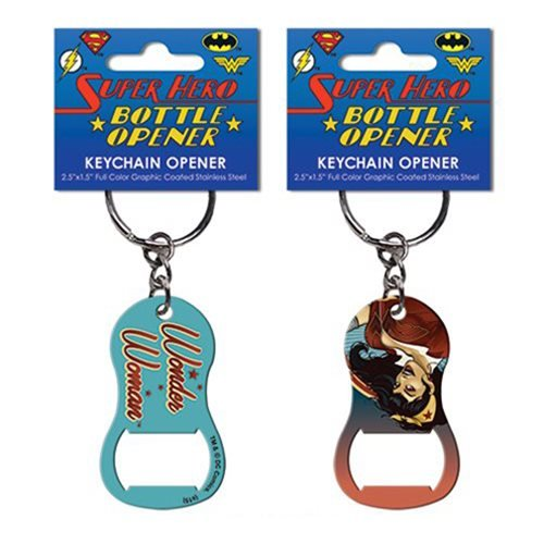 DC Comics Bombshells Wonder Woman Key Chain Bottle Opener