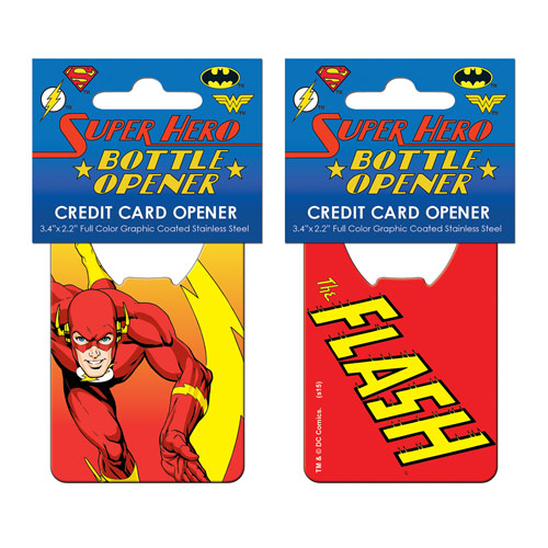 The Flash Iconic Credit Card Bottle Opener
