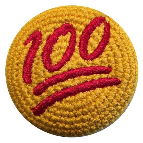 Emoji 100 Percent Crocheted Footbag