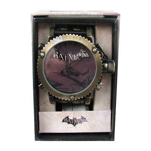 Batman Arkham City Oversized Strap Watch