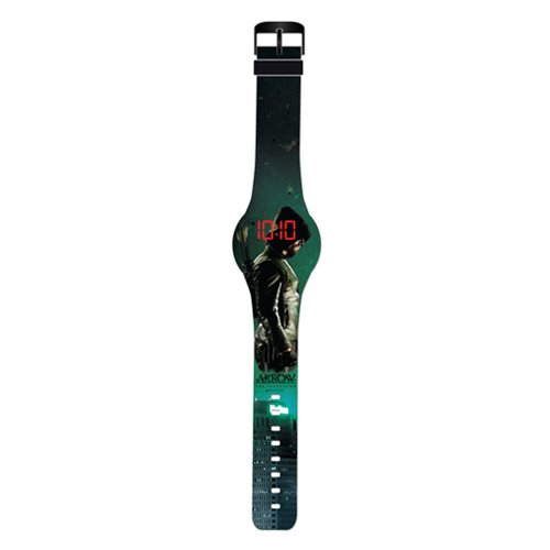 Arrow TV Side Profile Image LED Watch