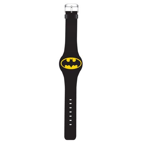Batman Yellow Oval Emblem LED Watch