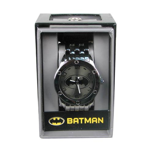 Batman Black Tonal Bracelet Watch