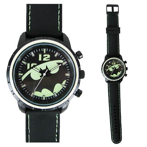 Batman Side Emblem Strap Watch