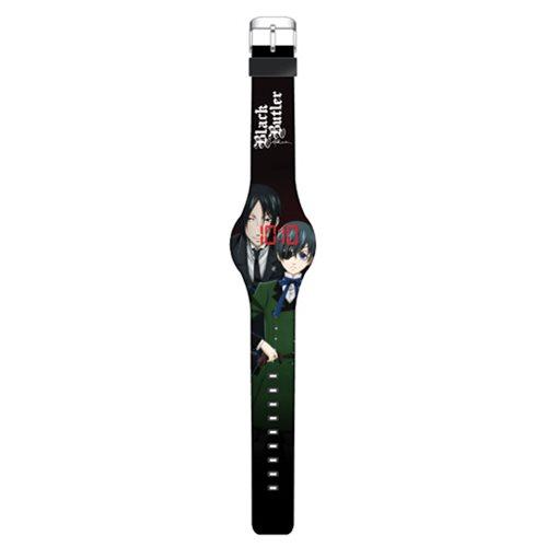 Black Butler LED Watch
