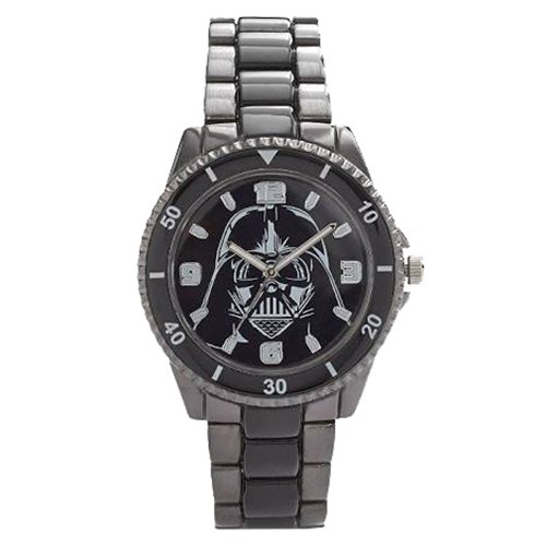 Star Wars Darth Vader Watch with Black Metal Bracelet