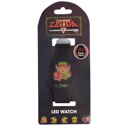 Legend of Zelda 8-Bit Link LED Watch