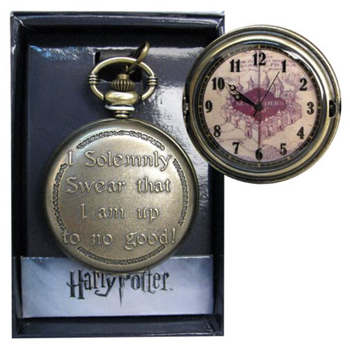Harry Potter I Solemnly Swear Pocket Watch