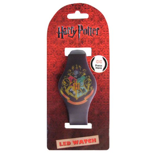 Harry Potter Hogwarts Crest LED Watch