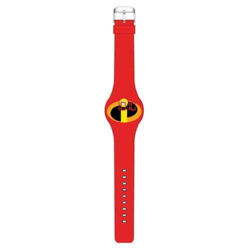 The Incredibles Logo Red LED Watch