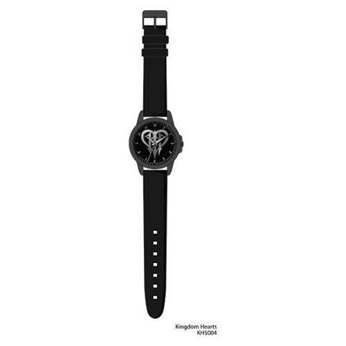 Kingdom Hearts 3 Logo Black Dial Watch