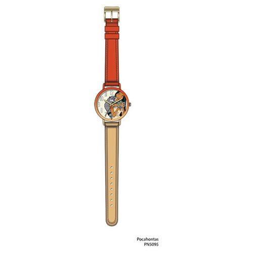 Pocahontas 2-Tone Stitch Strap Watch