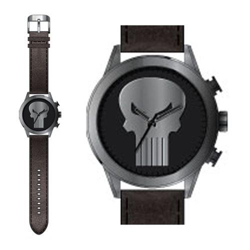 Punisher Logo Strap Watch