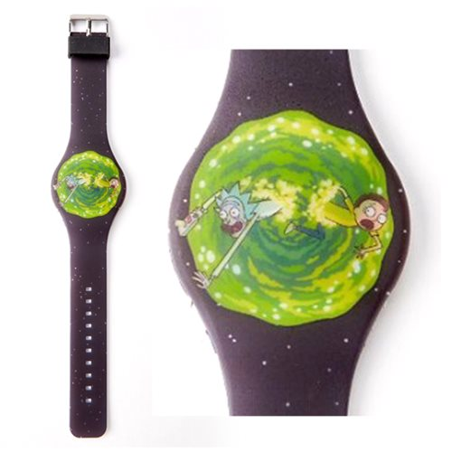 Rick and Morty Through the Portal LED Watch