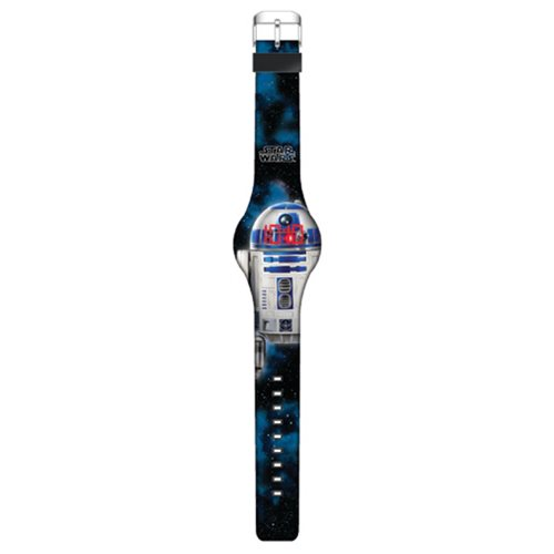 Star Wars R2-D2 Image LED Watch