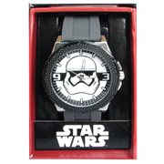 Star Wars Episode VII The Force Awakens Storm Trooper Grey Silicone Watch