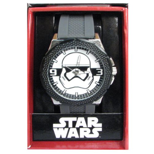 Star Wars Episode VII TFA Stormtrooper Grey Silicone Watch