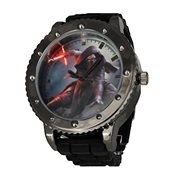 Star Wars Episode VII The Force Awakens Kylo Ren Black Silicone Watch
