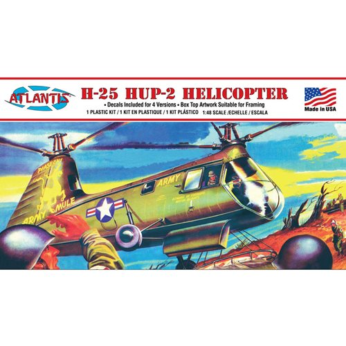 H-25 Army Mule Helicopter 1:48 Scale Model Kit