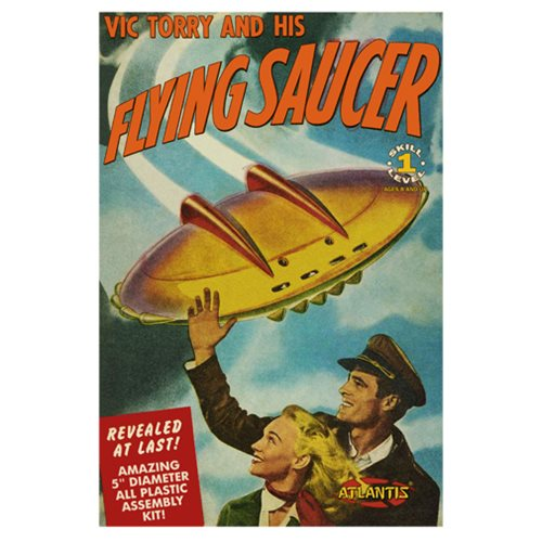Vic Torry's Flying Saucer 5-Inch Model Kit with Light