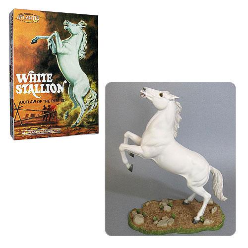 White Stallion Horse Model Kit
