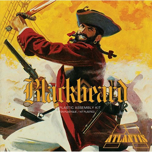 Blackbeard the Bloodthirsty Pirate Plastic Model Kit