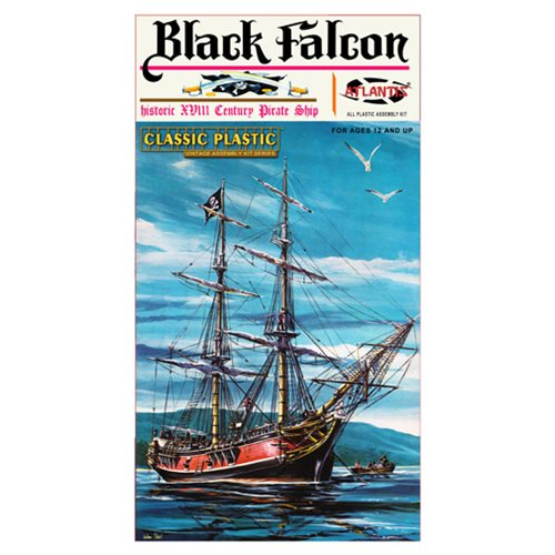 Black Falcon Pirate Ship Classic 1:100 Scale Model Kit