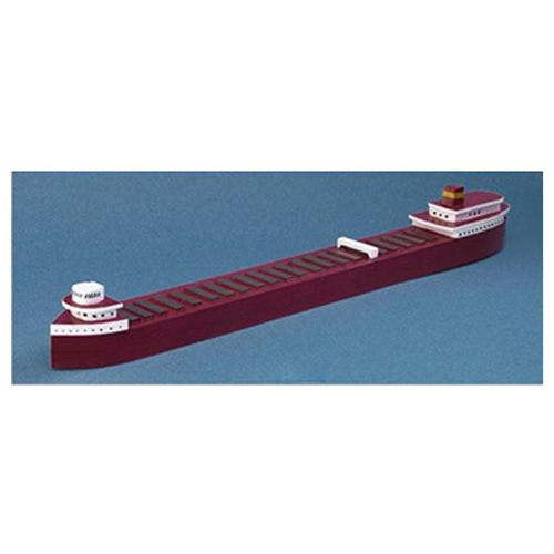 S.S. Edmund Fitzgerald Freighter Wood Model Kit