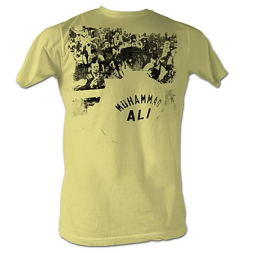 Muhammad Ali Ringside Yellow T-Shirt
