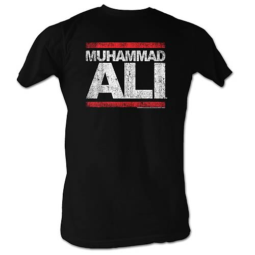 Muhammad Ali Run DMC Black T-Shirt