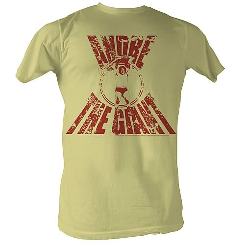 Andre the Giant Real G Yellow T-Shirt