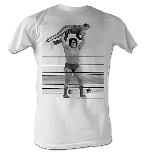 Andre the Giant Lightweight White T-Shirt