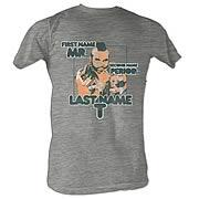 Mr. T Last Name T Gray T-Shirt