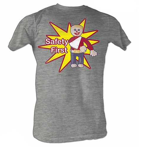 Mr. Bill Safety First Gray T-Shirt