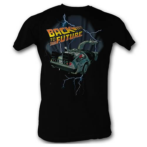 Back to the Future Lightning T-Shirt