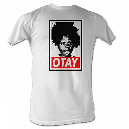 Little Rascals Buckwheat Otay White T-Shirt