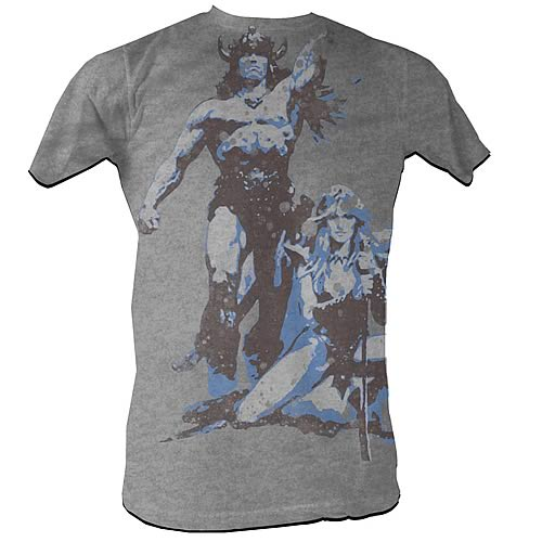 Conan the Barbarian Conan Vintage Gray T-Shirt
