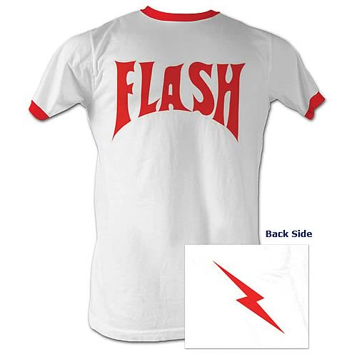 Flash Gordon Flash Bolt White T-Shirt