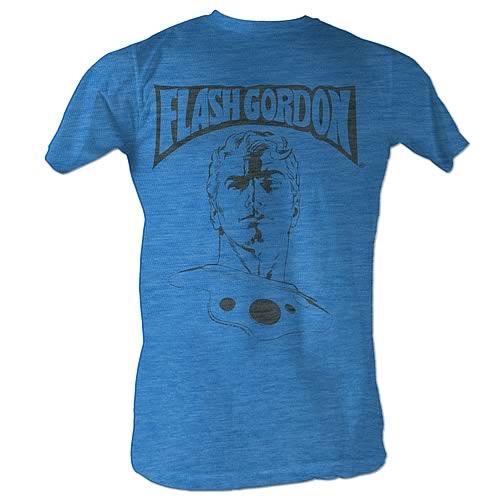 Flash Gordon Ballin Turquoise T-Shirt