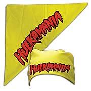 Hulk Hogan Hulkamania Yellow Bandana