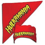 Hulk Hogan Hulkamania Red Bandana