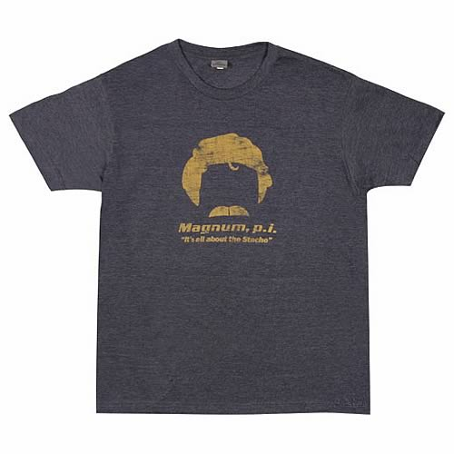 Magnum P.I. All About The Stache T-Shirt